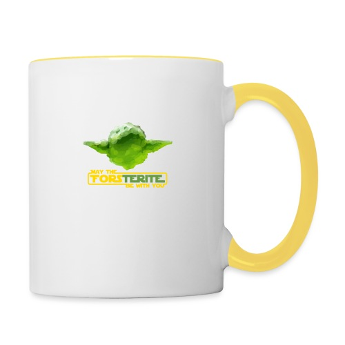Forsterite force - Taza en dos colores