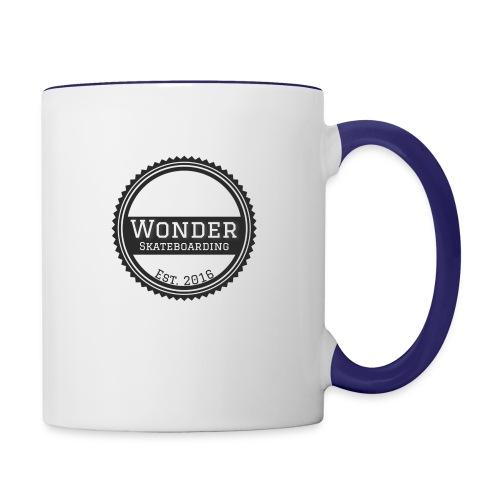 Wonder Longsleeve - round logo - Tofarvet krus