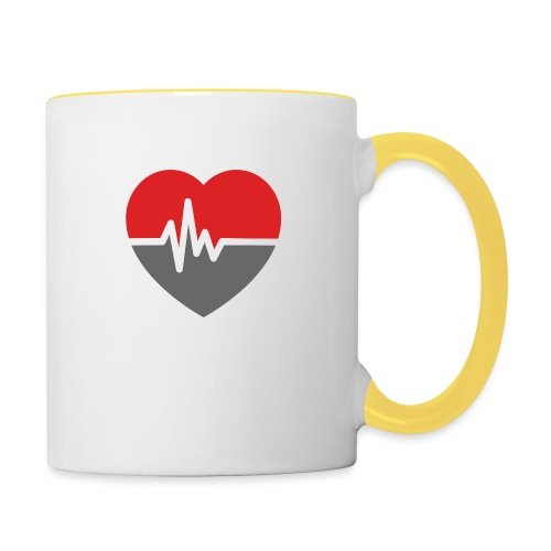 RaveHeart - Flowjob - Contrasting Mug
