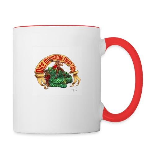 DiceMiniaturePaintGuy - Contrasting Mug