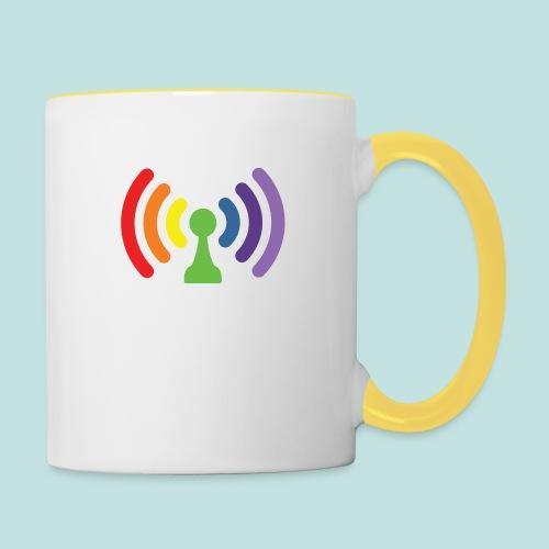 Bi-Fi - Contrasting Mug