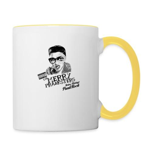THE_MERRY_PRANKSTERS_STANDARD_scuro - Contrasting Mug