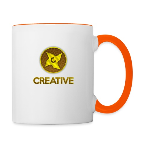 Creative logo shirt - Tofarvet krus