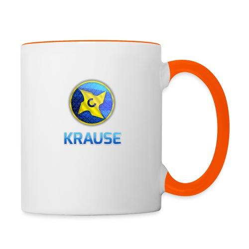 Krause shirt - Tofarvet krus