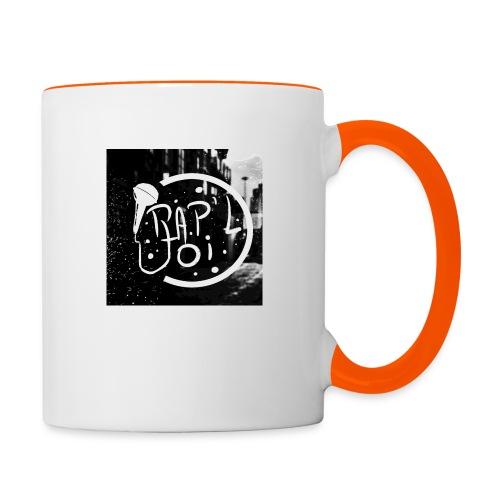 T-SHIRT LOGO CHAINE - Mug contrasté
