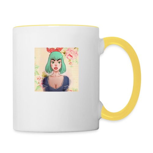 elena of spain - Contrasting Mug