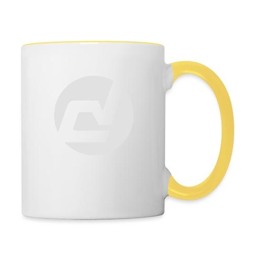 logo blanc - Mug contrasté