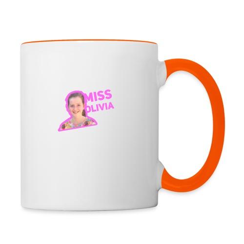 MissOlivia - Mok tweekleurig