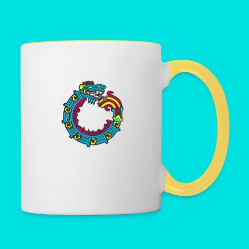 aztek - Taza en dos colores