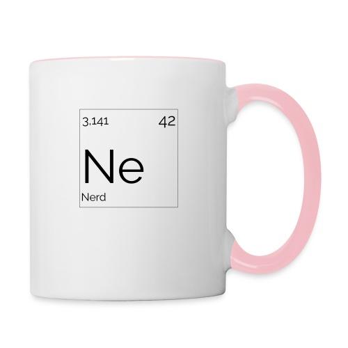 Mendeleïev Nerd - Mug contrasté