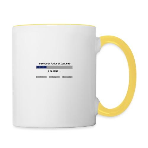 europeanfederation.exe - Contrasting Mug