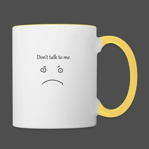 Don-t_talk_to_me - Tofarvet krus