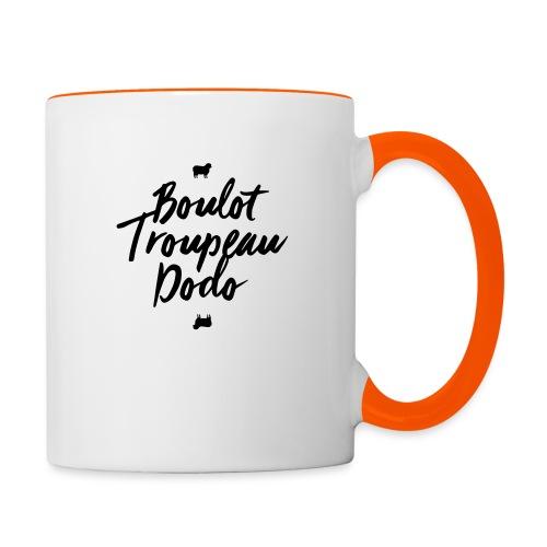 Boulot Troupeau Dodo - Mug contrasté
