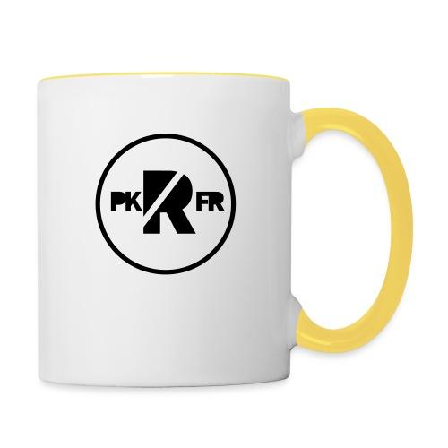PKFR Parkour Rostock Logo - Tasse zweifarbig