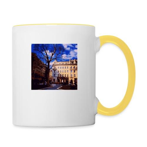 Budapest - Tasse zweifarbig