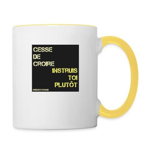 Motivation - Mug contrasté