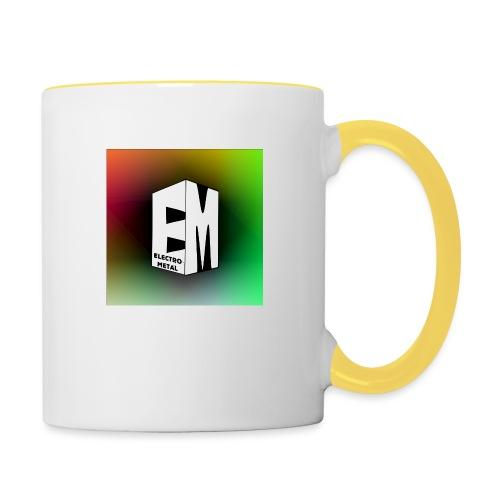 ElectroMetal_Logo - Contrasting Mug