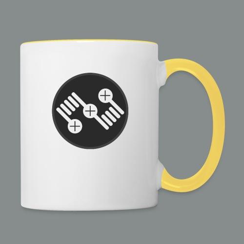 logo 2 png - Tasse zweifarbig