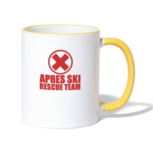 apres-ski rescue team - Mok tweekleurig