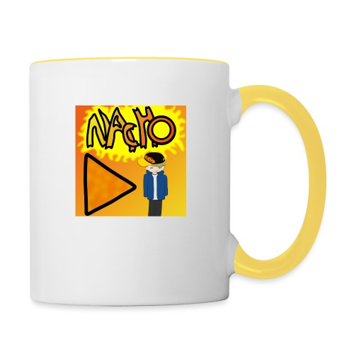 Nacho Title with Little guy - Contrasting Mug