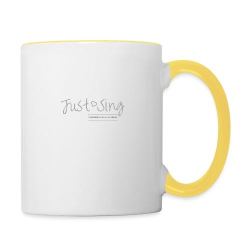 Just Sing - Contrasting Mug