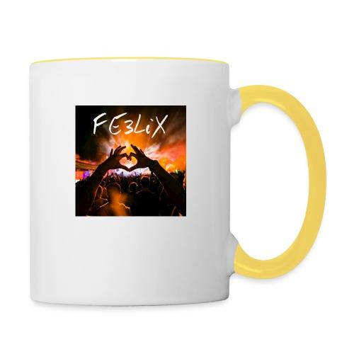 FE3LiX Logo. . g - Tasse zweifarbig