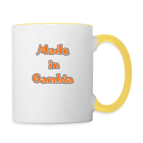 Made in Gambia - Contrasting Mug