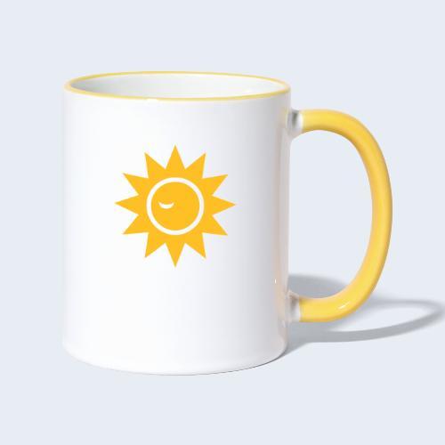 Winky Sun - Mok tweekleurig