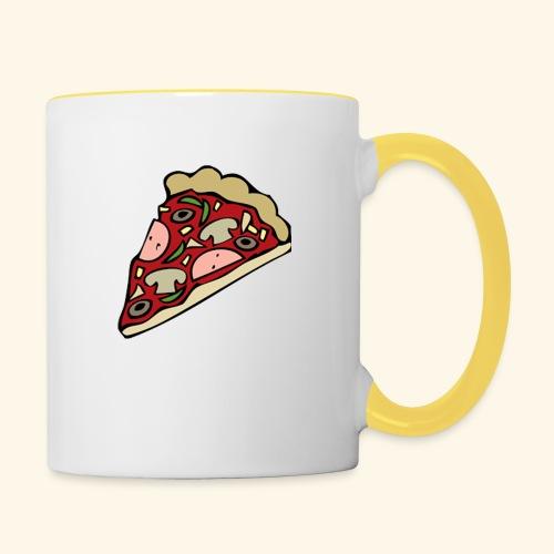 Pizza - Mug contrasté
