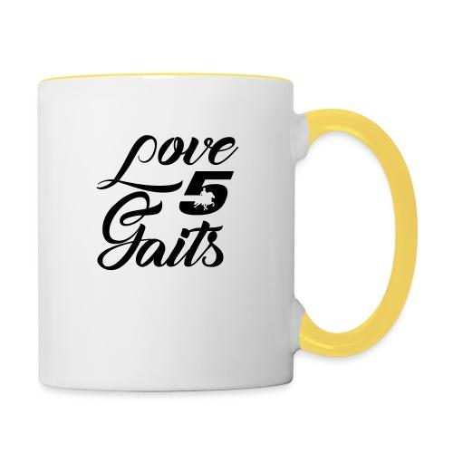 Love 5Gaits - Contrasting Mug