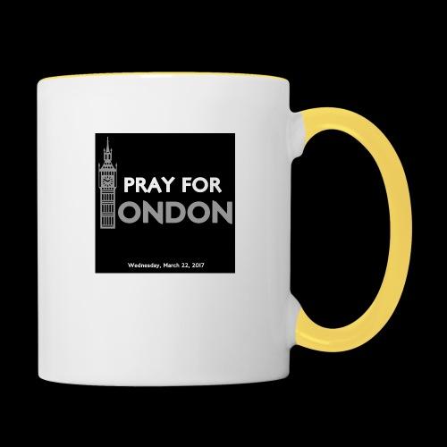 PRAY FOR LONDON - Mug contrasté