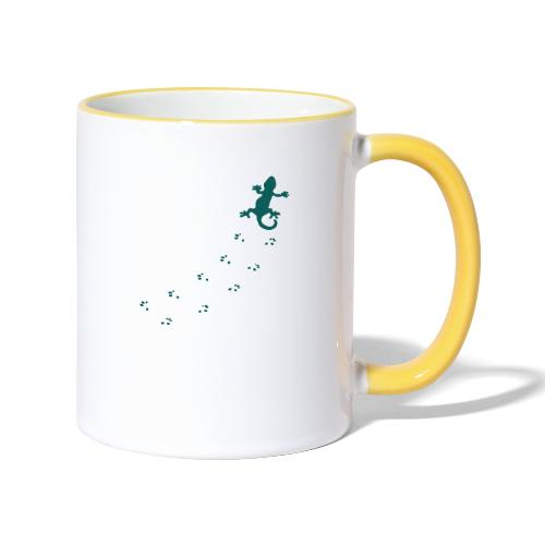 Messy Lizard Paws - Contrasting Mug
