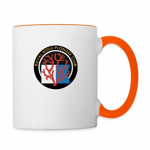 Royal Wolu Plongée Club - Mug contrasté
