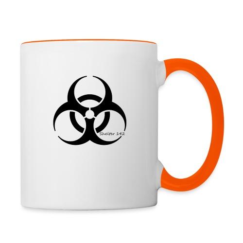 Biohazard - Shelter 142 - Tasse zweifarbig