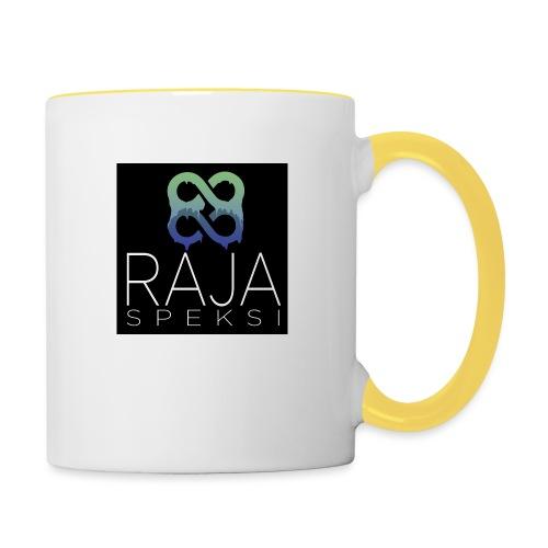 RajaSpeksin logo - Kaksivärinen muki
