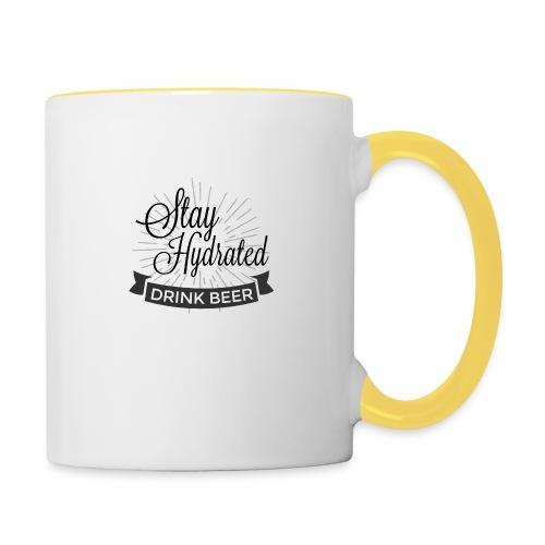 Stay Hydrated - Contrasting Mug