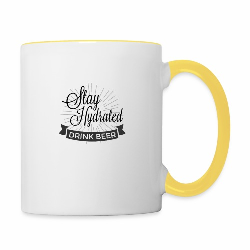 Stay Hydrated - Contrasting Mug