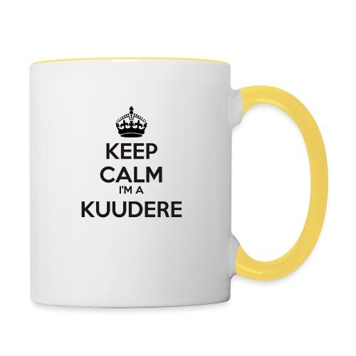 Kuudere keep calm - Contrasting Mug