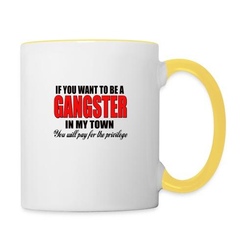 ville gangster - Mug contrasté