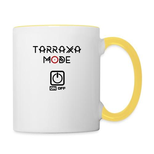 Tar Mode Black png - Contrasting Mug