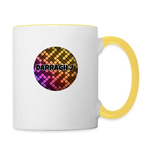 Darragh J logo - Contrasting Mug