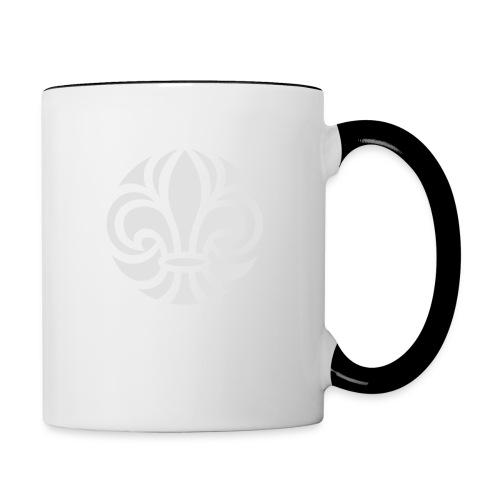 Scouterna-symbol_white - Tvåfärgad mugg