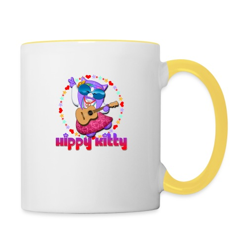 Hippy Kitty - Tazze bicolor