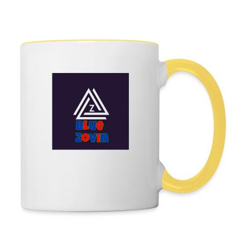 BlueZovinshirt - Contrasting Mug