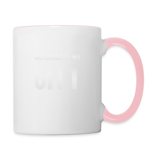 Unturned is my city - Contrasting Mug