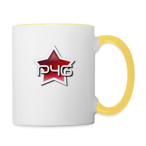 logo P4G 2 5 - Mug contrasté