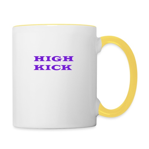 HIGH KICK HOODIE [LIMITED EDITION] - Contrasting Mug