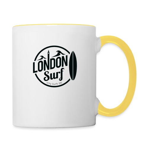 London Surf - Black - Contrasting Mug