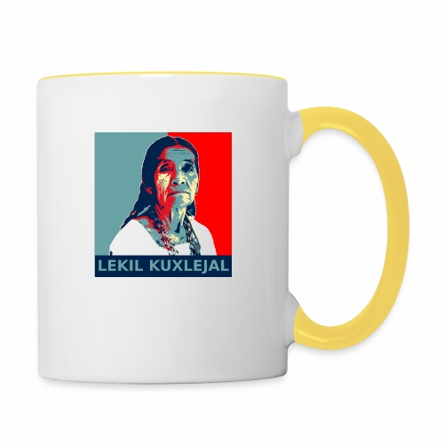 Lekil Kuxlejal - Taza en dos colores