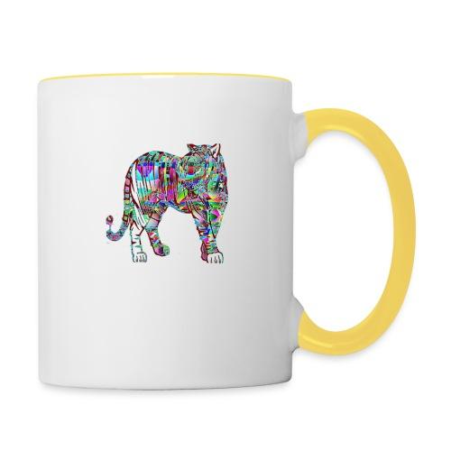 Tigre - Mug contrasté